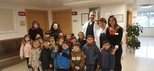 İzmir'de miniklere sağlık taraması