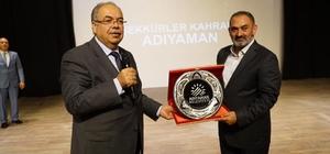 Şair Dursun Ali Erzincanlı'ya fahri hemşerilik beraatı verildi
