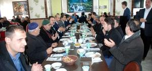 Diyanet-Sen üyeleri yemekte bir araya geldi