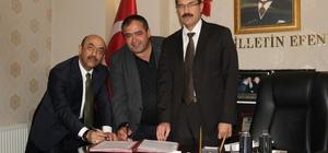 Aksaray'da çiftçilere eğitim kursu protokolü imzalandı