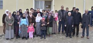 Başkan Ataç belde evindeki kadınlarla buluştu