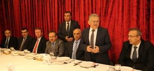 Başkan Büyükkılıç Belediyenin emektarları ile vedalaştı