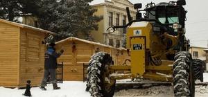 Kırklareli Belediyesi kar sınavını başarıyla geçti