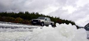 Muğla'da dolu yağışı etkili oldu