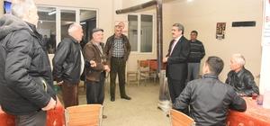 Başkan, Hisarcık ve Işıklar Mahallelerini ziyaret etti