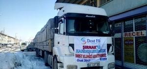 Şırnak'taki terör mağdurlarına yardım
