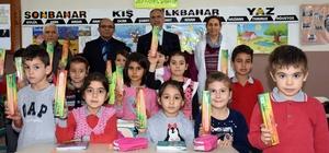 Başkan Kale, duyarlı öğrencileri ödüllendirdi