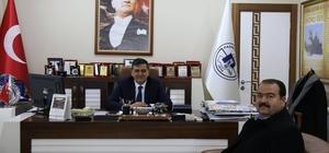Kütahya AK Parti Merkez İlçe Başkanı Korkmaz'dan Başkan Yalçın'a ziyaret