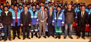 Başkan Vekili Yaşar, temizlik emekçilerini unutmadı