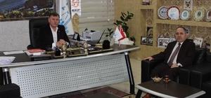 Çevre ve Şehircilik İl Müdürü Bolat'tan Başkan Duymuş'a ziyaret