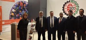 GTO, Domotex Hannover fuarına katılan halıcıları Gaziantep'e davet etti