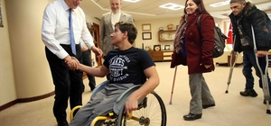 """Başkan Karaosmanoğlu, """"Engelli farklı değil sadece özeldir"""""""