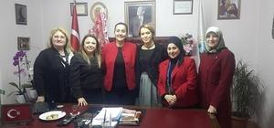 AK Parti Kadın Kollarından Başkan Güneş'e ziyaret