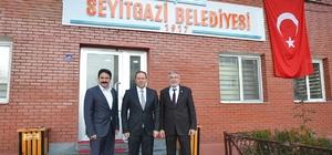 Geyve Belediye Başkanı Kaya'dan Başkan Kalın'a ziyaret