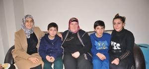Vali Demirtaş'ın eşi Beyhan Demirtaş şehit ailelerinin yanında