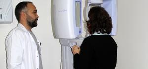 Finike Devlet Hastanesi'ne röntgen cihazı
