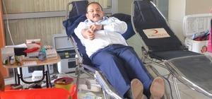 Cumhuriyet Başsavcısı Cansever kan verdi