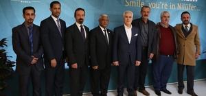 Etiyopya Büyükelçisi'nden Bozbey'e ziyaret