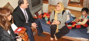 Fatma Şahin, engelli baba ve çocuklarına sahip çıktı