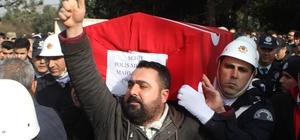 Şehit polis doğum gününde toprağa verildi