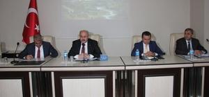 Bingöl 1. dönem koordinasyon kurulu toplantısı