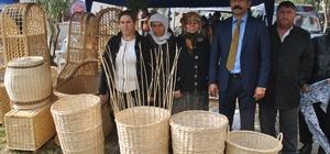 Roman kadınlar sepet örmeciliğini yaşatacak