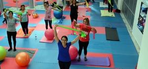Pilates ve Zumba Manavgatlı kadınların gözdesi oldu