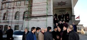 Dündar, Bağlarbaşı Ziraat Camii'ni gezdi
