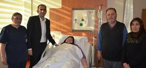 Fatsa Devlet Hastanesi doktorlarından başarılı operasyon