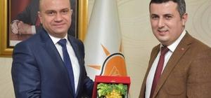 AK Parti Sarıgöl teşkilatından Başkan Mersinli'ye ziyaret