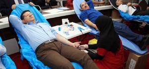 Merkezefendi Belediyesi'nden kan bağışına destek