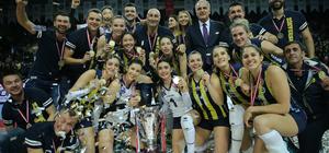 Fenerbahçe, kupasını aldı