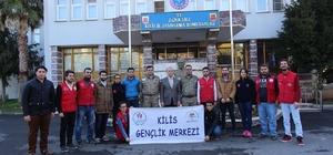 Gençlik Liderleri ve Gönüllüler askerleri ziyaret etti