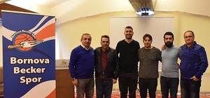 Bornova Becker Spor yönetimine yeni isimler