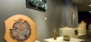 Çamurcuların eserleri Galeri Çankaya'da