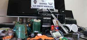 Van'da hırsızlık operasyonu