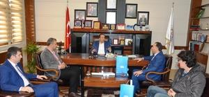 Başkan Toltar, İLKÇEV yönetimini ağırladı
