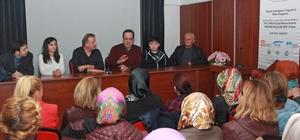 Başkan Kerim Aksu'dan bayan girişimcilere destek sözü.