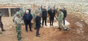 Kaymakam Dayanç askeri üs bölgesini ziyaret etti