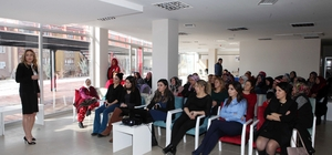 Yenimahalle'de kadınlara özel seminer