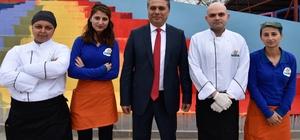 Başkan Uysal, Teneffüs Park çalışanlarıyla buluştu