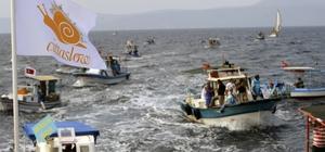 Seferihisar'da yine balık çiftliği krizi