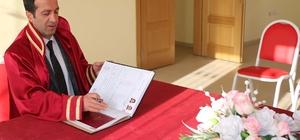 Bitlis'te bir yılında 320 resmi nikah kıyıldı
