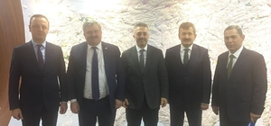 Çaturoğlu, DSİ Genel Müdürü Murat Acu ile 2017 yatırım programını görüştü