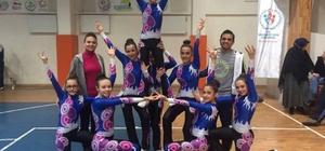 Tavşanlı Subaşı Ortaokulu Aerobik'de Kütahya birincisi oldu