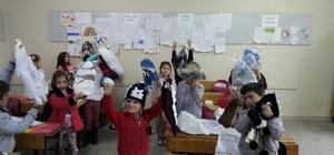 Armutlucumalılardan öğrencileri sevindiren karne hediyesi