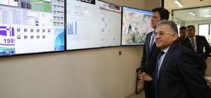 Melikgazi'de Scada Sistemi İle Kısa Sürede ve daha Ekonomik Hizmet Sunuluyor