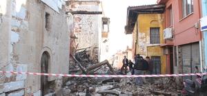 Muğla'da tarihi ev yıkıldı