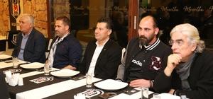 Beşiktaşlılar Derneği'ne ziyaret