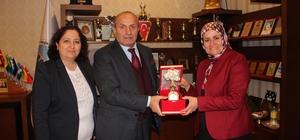 Kast-Kader'den Başkan Arslan'a ziyaret